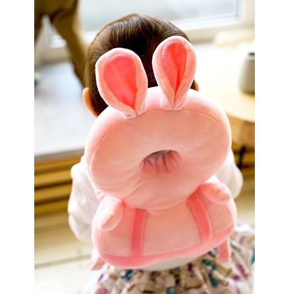 Защитный рюкзачок-подушка для малыша Зайчик